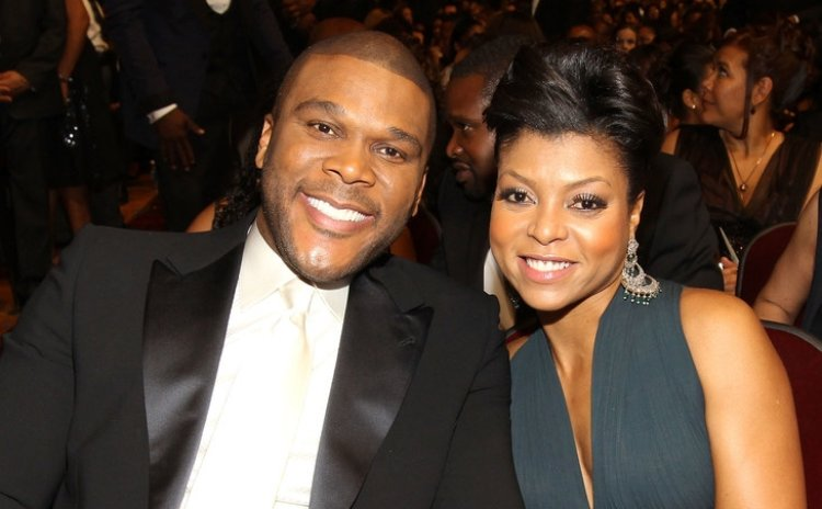Tyler Perry and  Taraji P. Henson