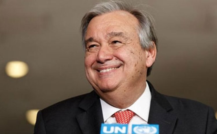 Antonio Guterres of Portugal is the new UN Secretary General