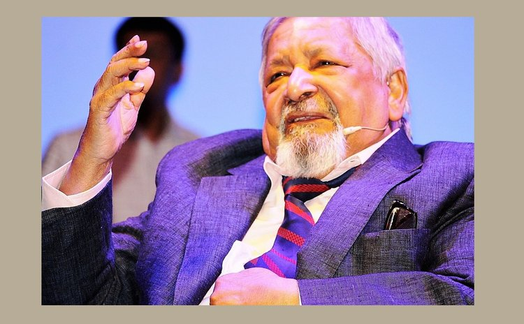 The late V.S. Naipaul