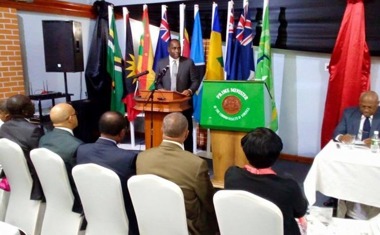 Prime Minister Skerrit addresses OECS Environment Ministers meeting