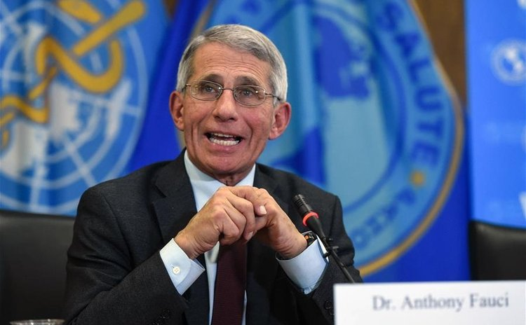 Anthony Fauci, director of the U.S. National Institute of Allergy and Infectious Diseases speaks during a Zika briefing in Washington D.C., the United States, on May 3, 2016.