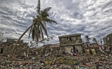 Image provided by the United Nations Stabilization Mission in Haiti shows impact of Hurricane Matthew, Haiti on Oct. 6, 2016
