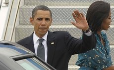 President Obama and wife Michele