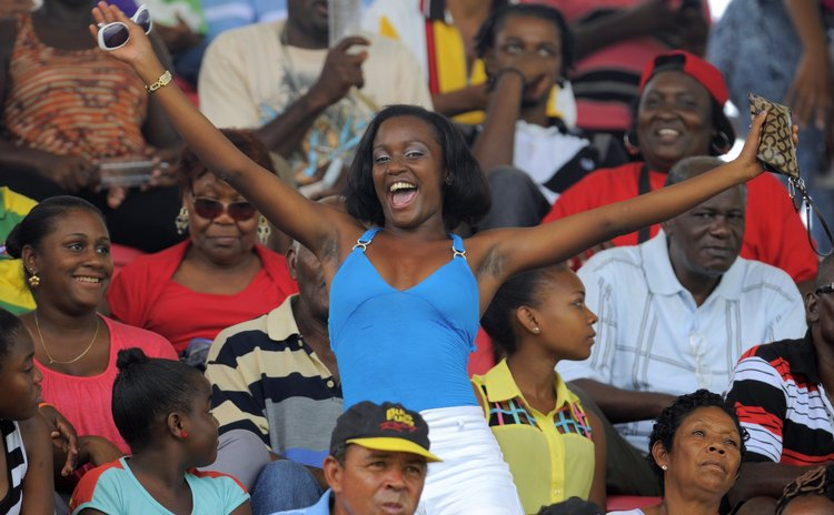 Windies fans enjoy victory