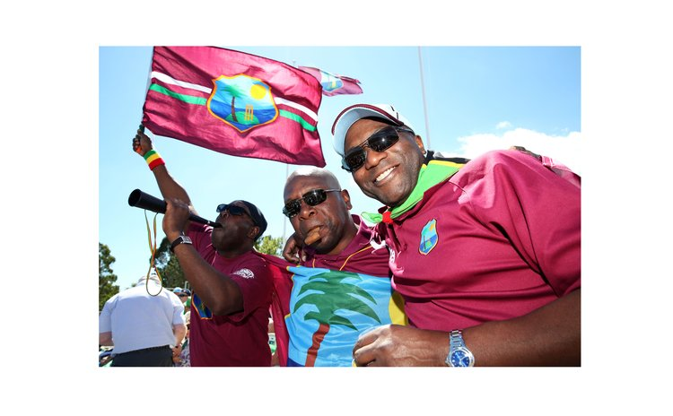 Long-suffering West Indies fans