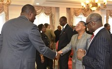 Pime Minister Skerrit meets the Chief Justice of the OECS