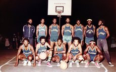 1980s FLAMES Senior Team with a full squad. Photo Courtesy Neckers