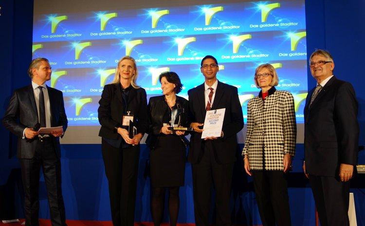 Dominica media award at ITB