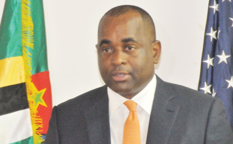 This photo shows PM Skerrit in 2015