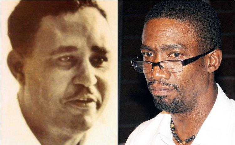LeBlanc, left, and Dr. Pascal