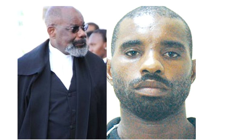 Judge Errol Thomas, left, and Herbert Xavier