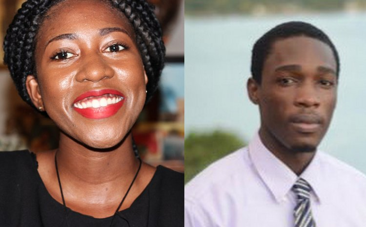 Quuen Awardees: Rianna Patterson and Eber Ravariere