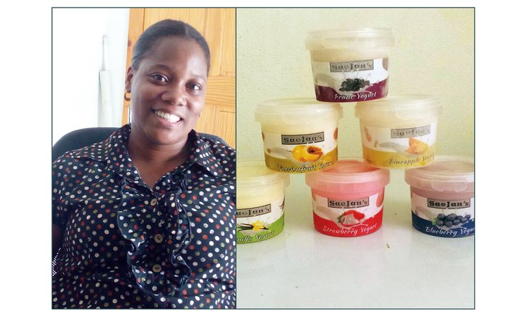 Natoya John and her product