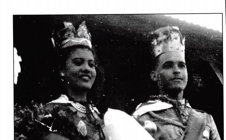 Queen Ursula Etienne Harris and Carnival King Stanley Fadelle
