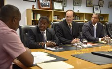 IMF officials in meeting with Prime Minister Skerrit after Tropical Storm Erika