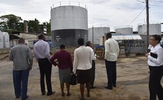 Government officials visit DCP after TS Erika