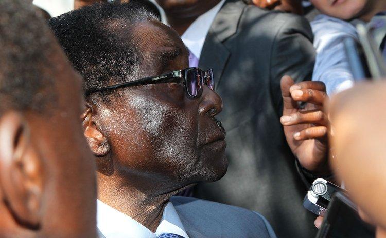 President Mugabe of Zimbabwe