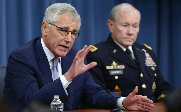 File Photo: US Defence Secretary, Chuck Hagel
