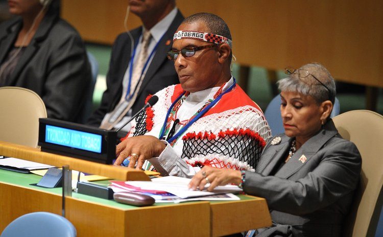 Representatives of indigenous people attend conference
