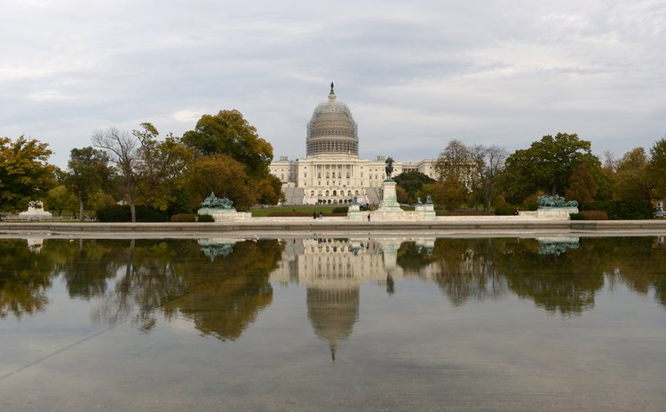 WASHINGTON D.C., Nov 5, 2010 (Xinhua) -- Photo taken on Nov. 4, 2014 shows the U.S. Capitol building in Washington D.C., the United States.