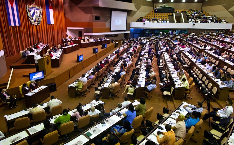 HAVANA, Dec. 20, 2014 (Xinhua) -- The closing of the twice-yearly meeting of the National Assembly is held in Havana, Cuba, Dec. 20, 2014.