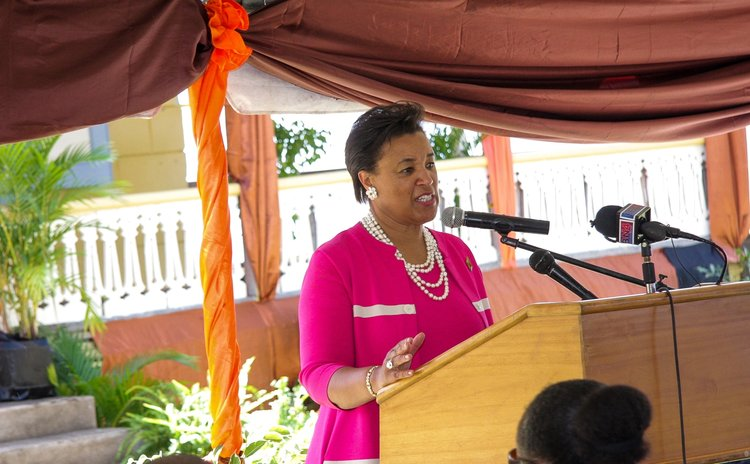 Commonwealth Secretary General Patricia Scotland