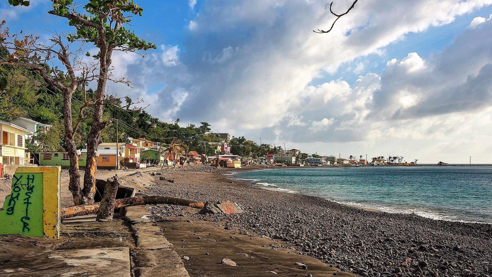 Scotshead Dominica (New York Times photo)