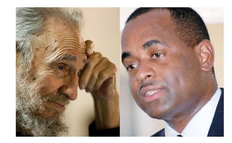 Castro, left, and Skerrit