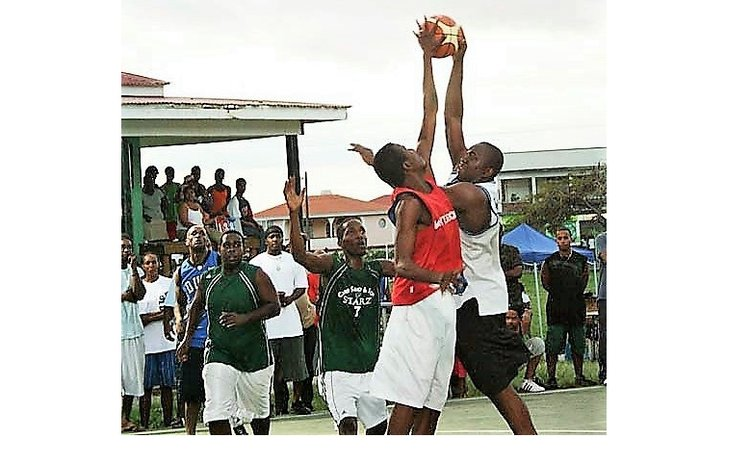 Local basketball action. Photo Courtesy DABA & DNO