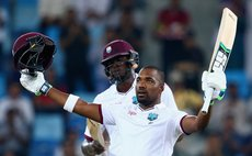 Bravo celebrates Test century