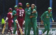 West Indies batsman Waalton falls
