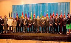 Heads of government and other officials attend Haiti CARICOM Summit