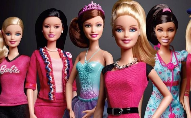 Some of the new Barbie dolls