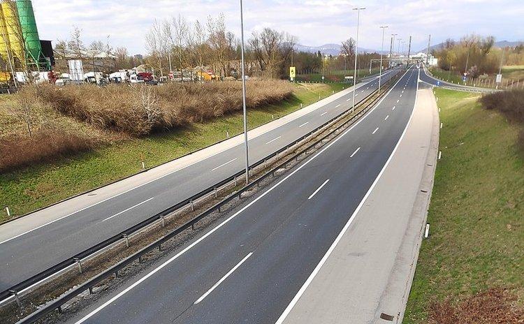 Empty highways- Slovenia