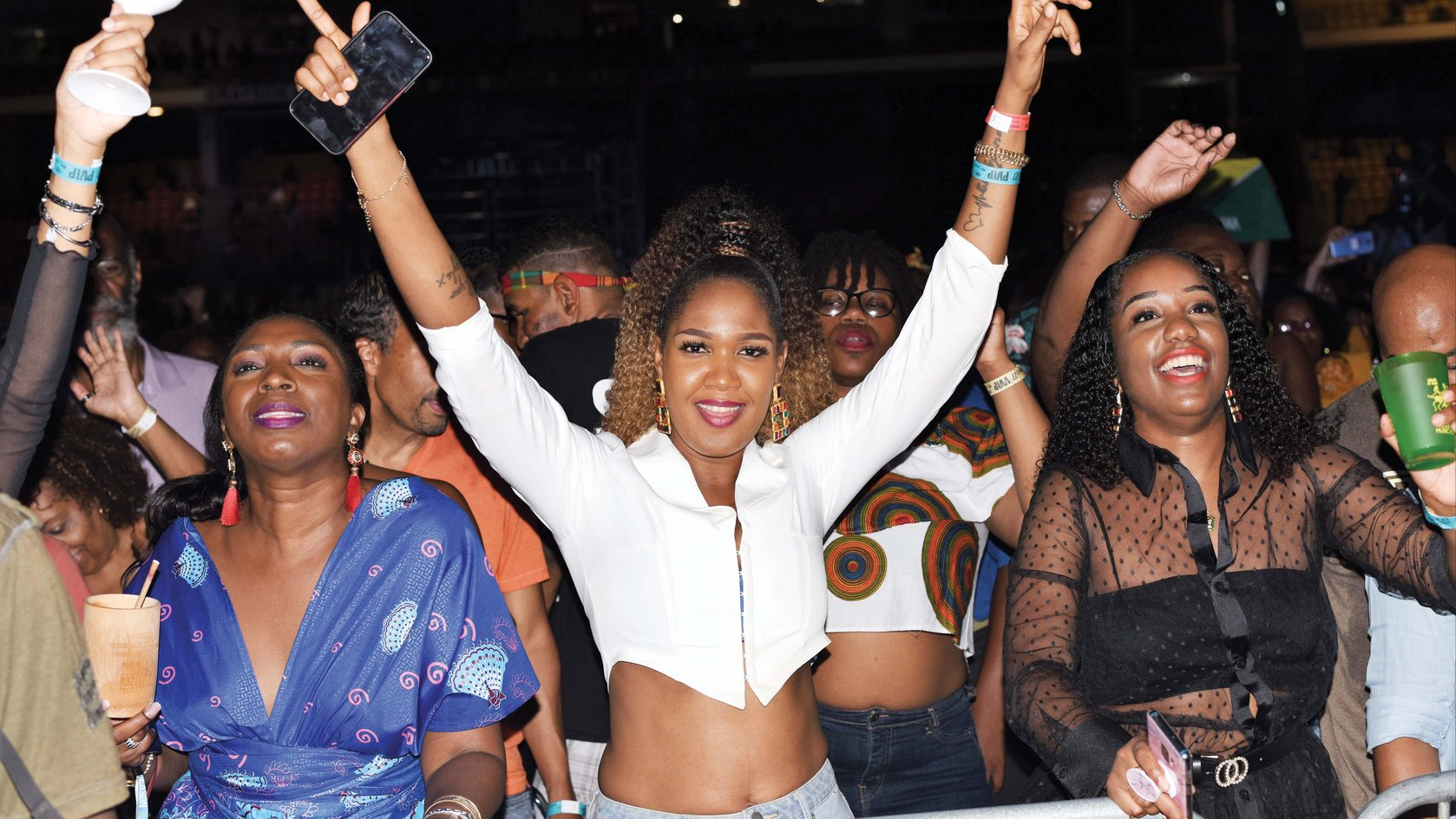 Fans at the 2019 World Creole Music Festival