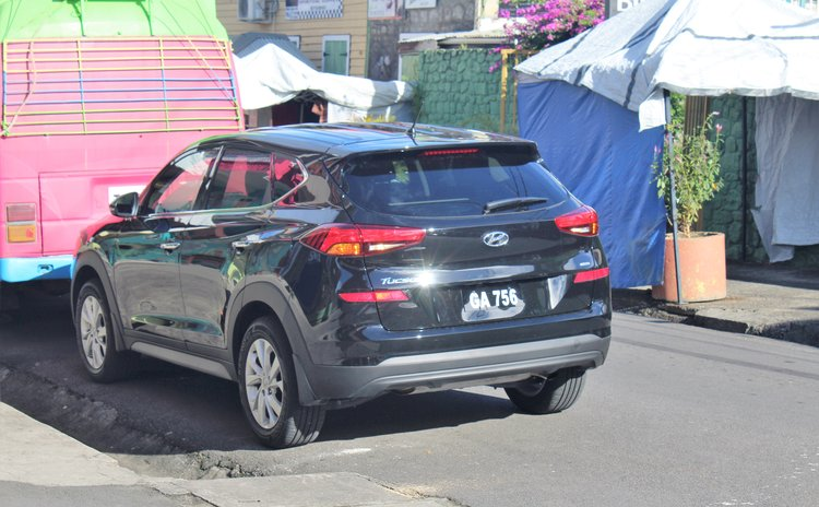 Vehicle given to former PM Patrick John by the State