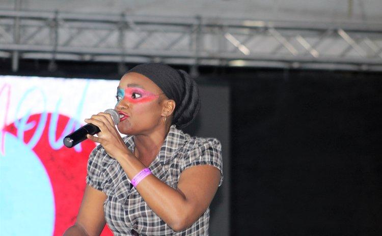 Abiyah performs at the 2021 Calypso semifinals