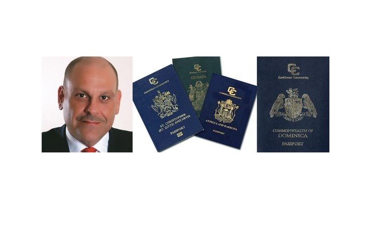 Ascot Michael and some Caribbean passports