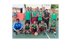 7Six7 S.C. team in DABA 2017 Under-17 Basketball Festival (See story for complete caption)