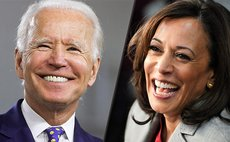 Left to right: US President and Vice President Elect Joe Biden and Kamala Harris