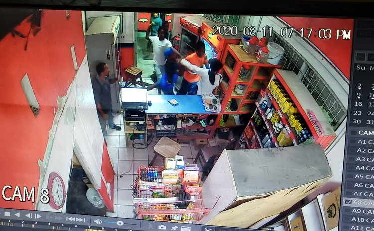 Scene captured by camera at Lindo Park gas station