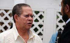Former Jamaica Prime Minister Bruce Golding
