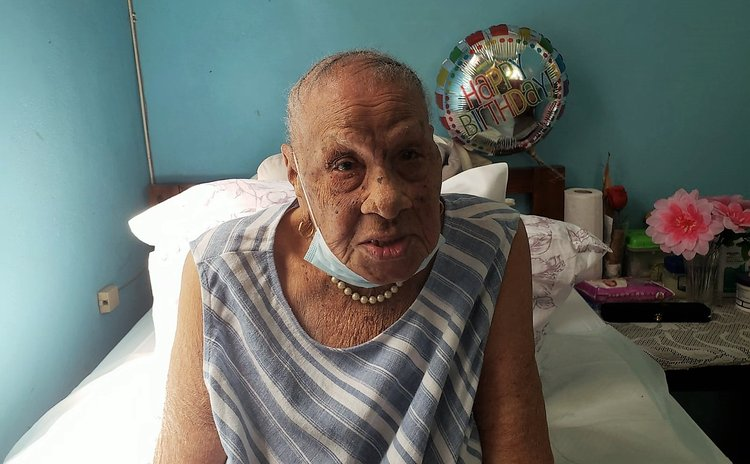 Centenarian Jane Graham
