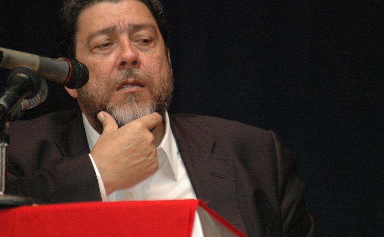 Chairman of the ECCB Monetary Council, Dr. Ralph Gonsalves