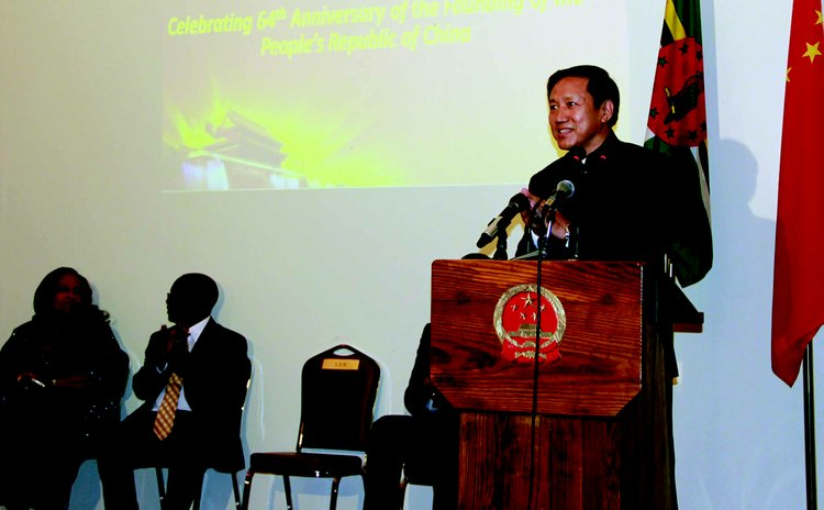 Chinese Ambasador addresses function
