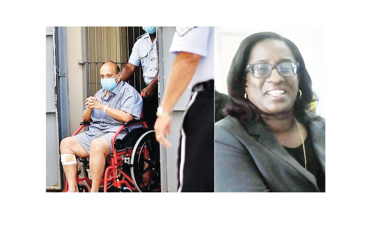Collage of Chief Magistrate Carette-George and Muhul Choksi