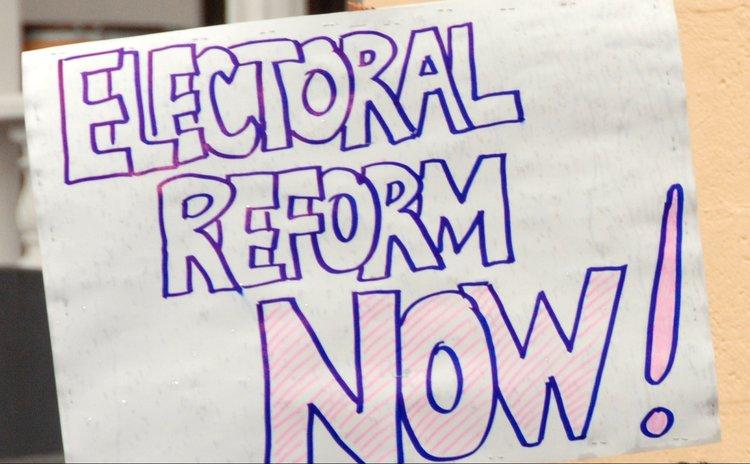 Electoral reform poster