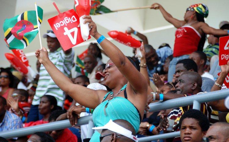 FILE PHOTO:Crowd at Windsor Park Stadium
