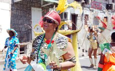 Jennifer Wallace Lafond enjoys carnival in 2010