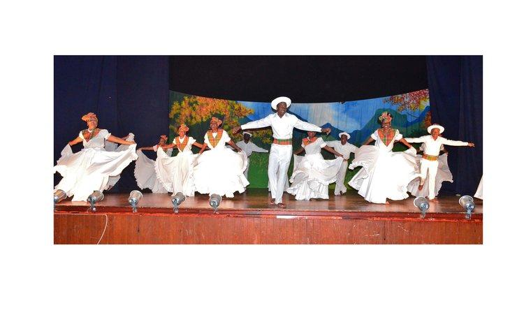 Waitukubuli Dance Theatre iin concert